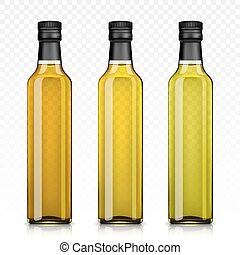 SD Set of Olive or Sunflower Oil Glass Bottles - Set of...