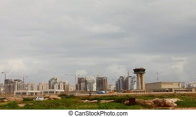 Sde Dov airport in Tel Aviv