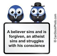 señal, atheist