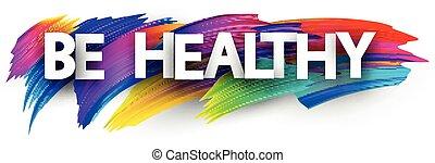 señal, cartas, cepillo, strokes., capital, encima, sano, ser
