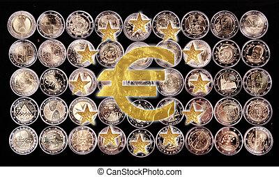 señal de euro