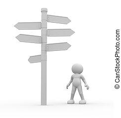 señal direccional
