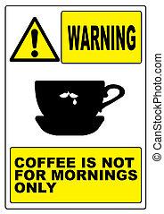señal, divertido, advertencia, humourous