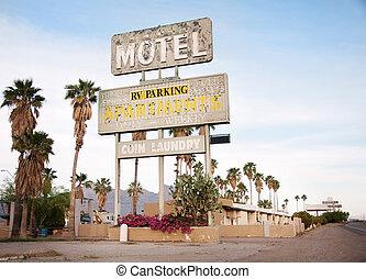 señal, motel, estados unidos de américa, az