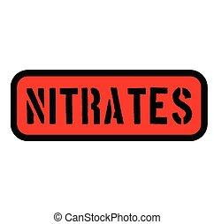 señal, nitrates, etiqueta
