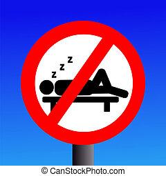señal, no, sueño