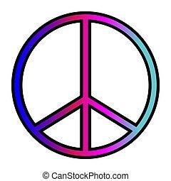 señal, paz