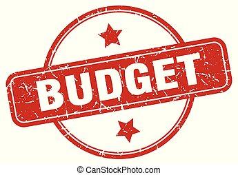 señal, presupuesto