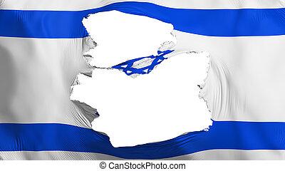 señalador de israel, andrajoso