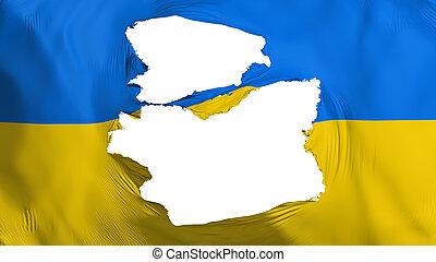 señalador de ukraine, andrajoso