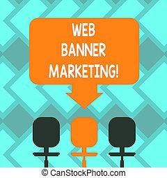 señalar, colore foto, photo., uno, blanco, tela, espacio, tres, texto, conceptual, entails, eslabón giratorio, actuación, anuncio, señal, bandera, marketing., sillas, flecha, embed, página