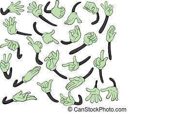 señales con la manoes