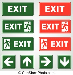 señales de salida