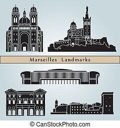 señales, marsella, monumentos