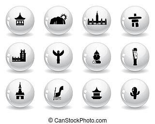 señales, y, culturas, iconos