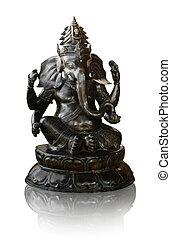 señor, ganesha, buddha, hinduismo