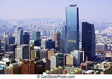 seúl, corea, ciudad