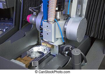 se apiñar, dental, máquina, perforación, laboratorio, o