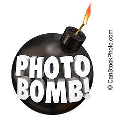 se entremeter, bomba, imagen, otros, toma, palabras, ...
