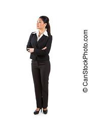 se, uppe., kvinna, asiatisk affärsverksamhet