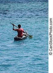 sea., ボート競技, america., combian, 南, ネイティブ