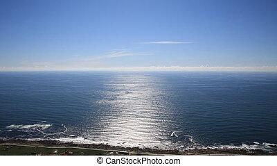 sea - a rugged coastline