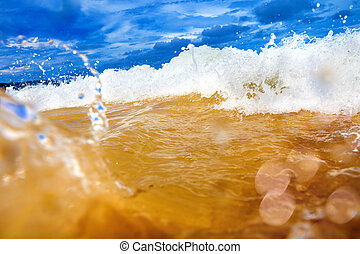 Sea abstract background