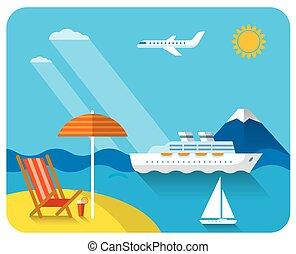 sea and beach resort