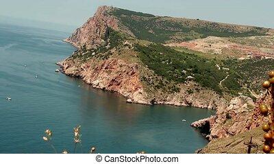 sea and mountains Balaklava - coastal zone of the city,...