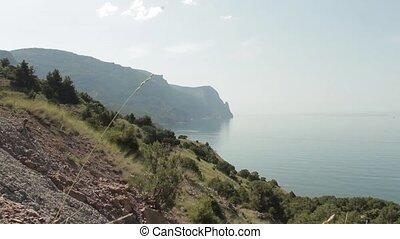 sea and mountains Balaklava - mountains and the sea,...