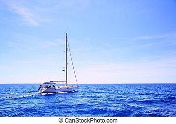 Sea and sail boat