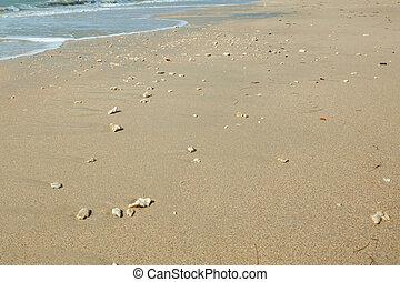 Sea and sand at Khao Lak,Thailand.