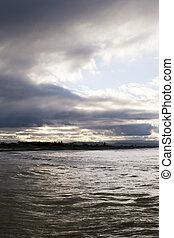 Sea and sky - Haumoana Beach, Hawke's Bay, New Zealand