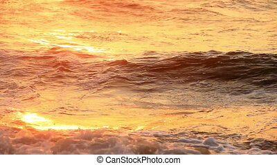 sea at morning time