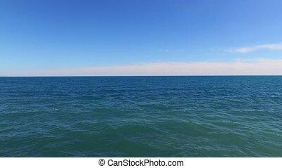 Sea at sunny day