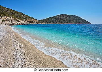 Sea beach in Turkey.