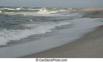 sea beach landscape in morning