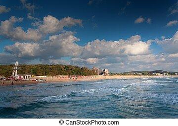 sea beach landscape