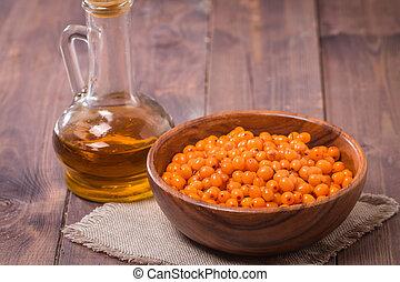 Sea-buckthorn oil and berries