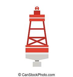 Sea Buoy Float Icon