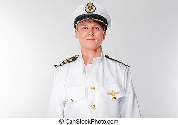 sea captain - courageous captain sea ship