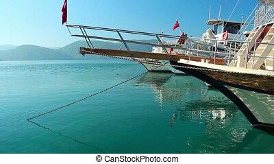 Sea coast in Turkey