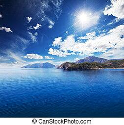 Sea coast - medditarean coast