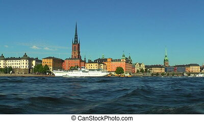 Sea cruise in in Stockholm