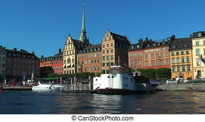 Sea cruise in Stockholm, Sweden