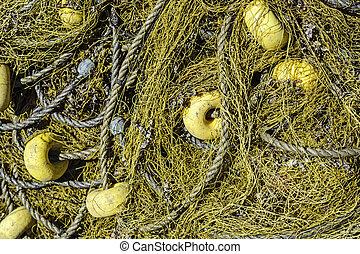 Sea drift net