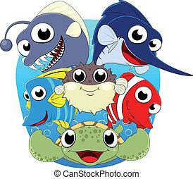 Sea Fish Set series 1