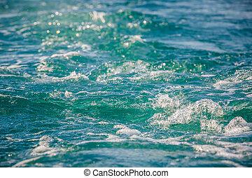 sea foam - close up of sea foam