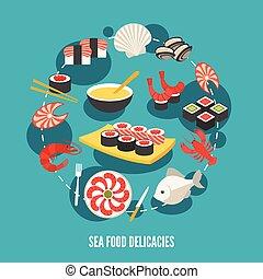 Sea food delicacies