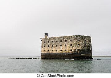 sea fortress of Napoleon near the cost of la rochelle (...